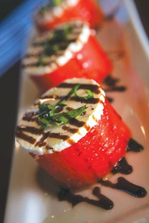 ... salad this mediterranean style salad starring watermelon along with