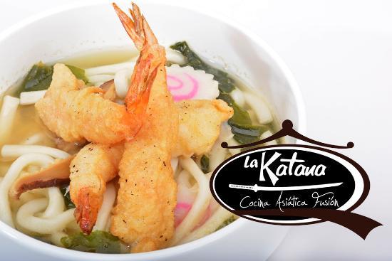 La Katana Cocina Asiatica Fusion: Sopa Udon Tempura