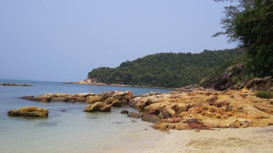 Sibu Island Resort: End of jungle trekking