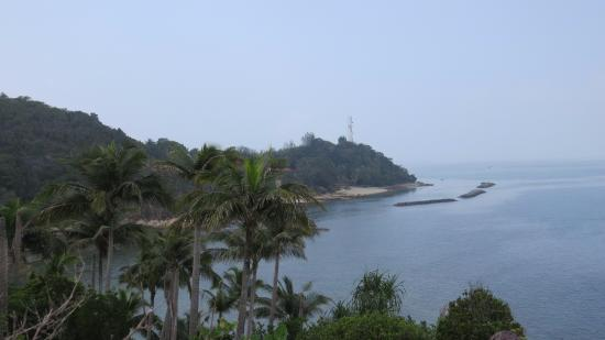 Sibu Island Resort: View from vantage point