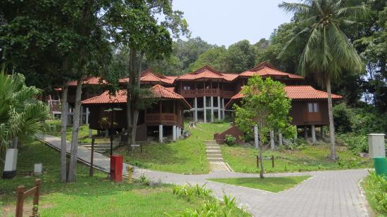 Sibu Island Resort: Chalets