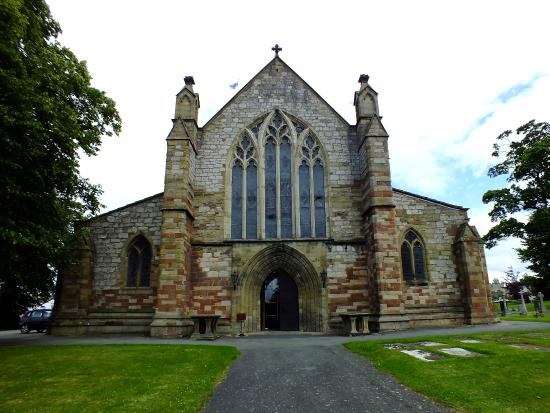 St. Asaph Cathedral: front of the cathedral