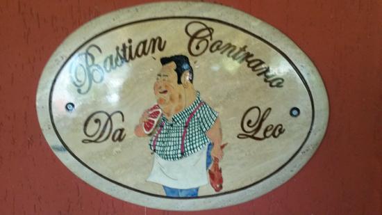 Ristorante Pizzeria Bastian Contrario: locale