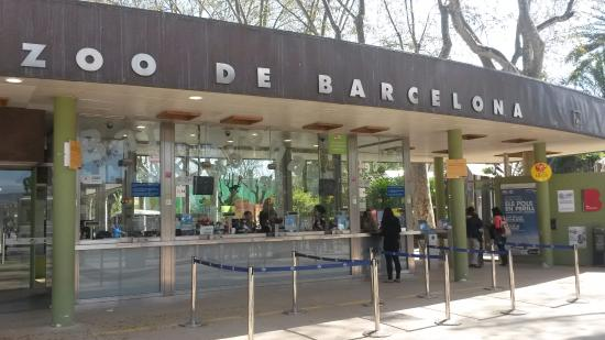 Zoo Barcelona entrance to zoo picture of barcelona zoo barcelona tripadvisor