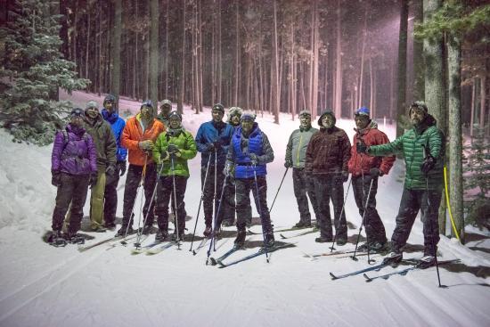 Night Skiing on Casper Mountain.