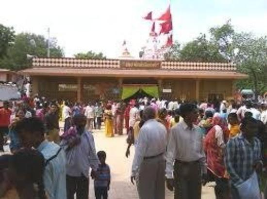 Bhavnagar, India: Khodiyar mandir recently Visit