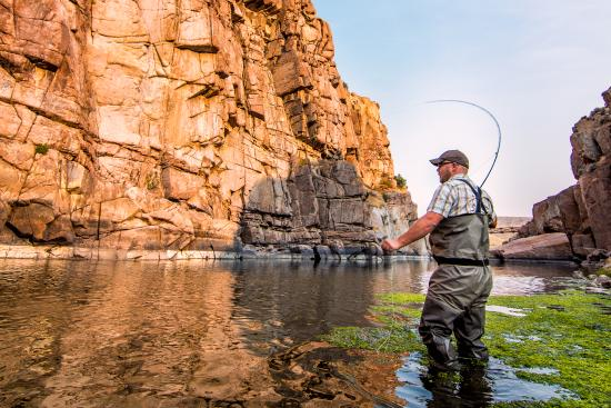 Casper, WY: Fly fishing at Fremont Canyon