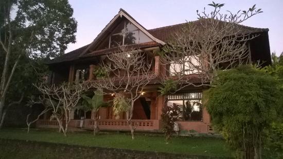 Melati Cottages: Vista de um dos locais onde estão os quartos, ficam em predios de dois andares.