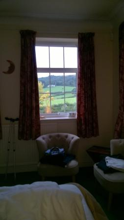 Exmoor Country House : Our room & views beyond