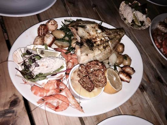 River Exe Cafe: Fishermans Platter to share