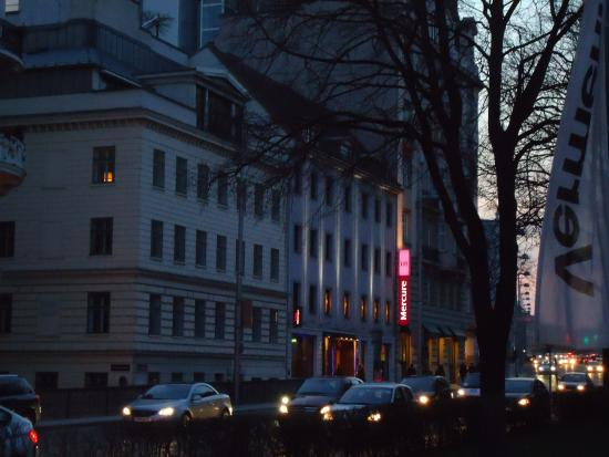 Hotel Mercure Secession Wien Getreidemarkt