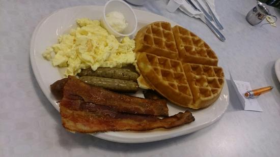 Platter Picture Of The Waffle Spot San Diego Tripadvisor