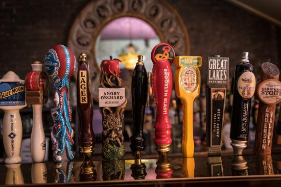 The Adelphia Music Hall: Rotating craft beer selections