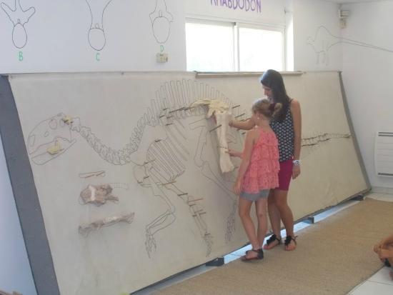 Esperaza, Francia: atelier des fouilles