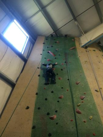 Central Rock Gym: tall wall 2