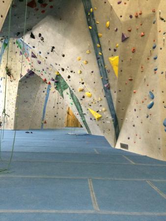Central Rock Gym: inside