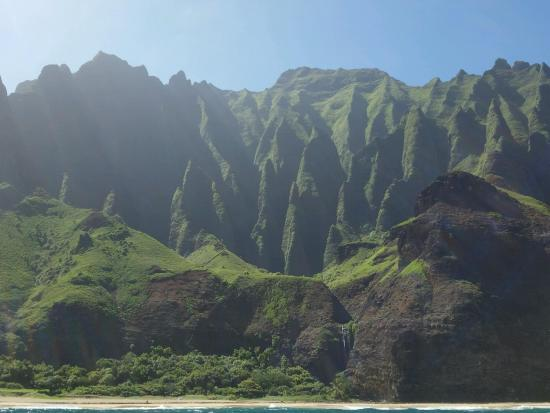 Cathedral Spires On Na Pali Coast Picture Of Kauai