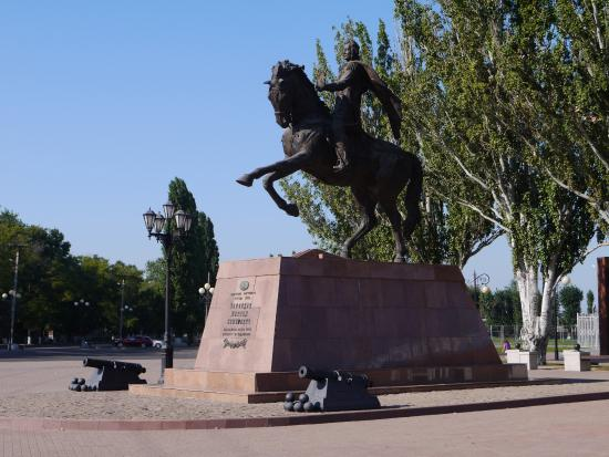 Monument to the Founder of Yeysk Prince Vorontsov