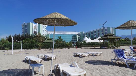 Grand Belish Hotel: beach
