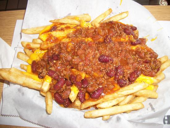 Alexandria, Pensylwania: Chili Fries - Appetizer for 4 or a Meal