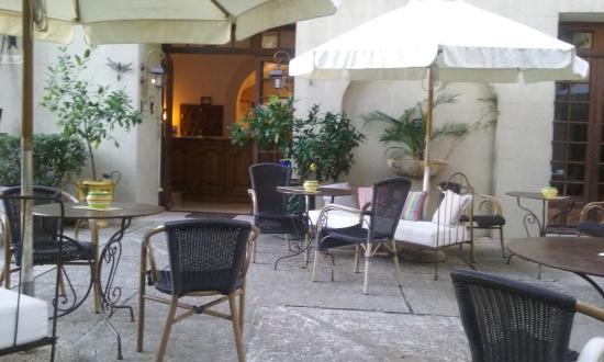 Le Manoir : les terrasses