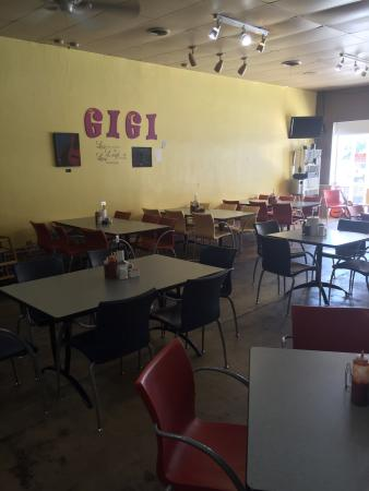 GiGi's Cafe': Our first trip to Gigi's! Excellent food and service. The bourbon bread pudding was awesome!
