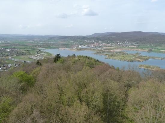Eschwege, Jerman: Blick auf den Werratalsee