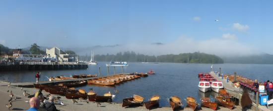Bowness-on-Windermere, UK: Bowness jetty