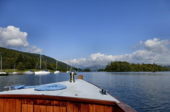 Bowness-on-Windermere, UK: View from small launch type vessel