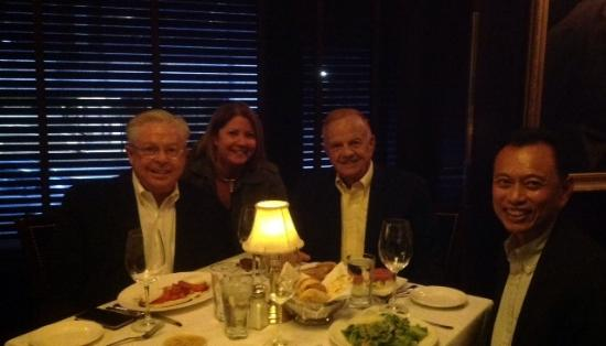 Capital Grille-Seattle: our group