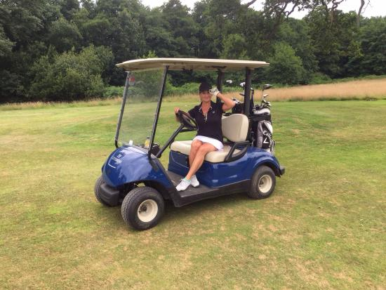 Cottesmore Golf and Country Club: Trial run of the Griffin