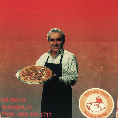 Bennington Pizza House: Arthur: with his wife Melpo, they established in town in 1968.
