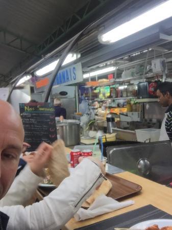París, Francia: Vue de la cuisine