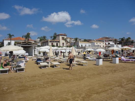 B&B Bella Giulia: Beach Club at Marina di Ragusa