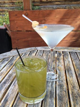 Ginger Cafe : Ginger Martini and Bangkok Basil