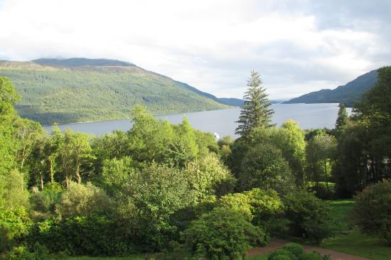 Loch Lomond Country Guest House: view from our window