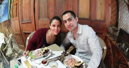 la pica del loro: foto del restaurant y de nuestro pulpo al olivo