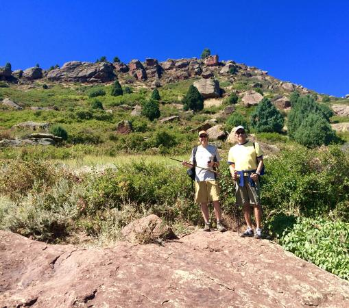 Matthews/Winters Park: About two miles into Red Rocks Trail