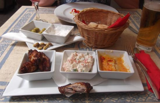 Circulo Sollerense : My disappointing Tapas