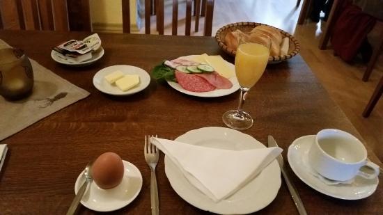 Parchim, Γερμανία: Vollständiges Frühstück