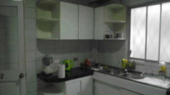 Quinchamali Hostel: cocina