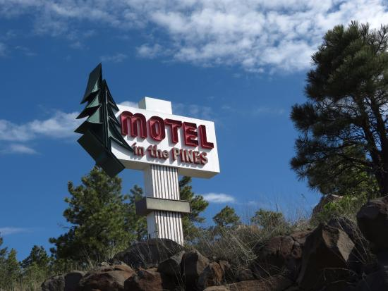 Motel in the Pines: Insegna