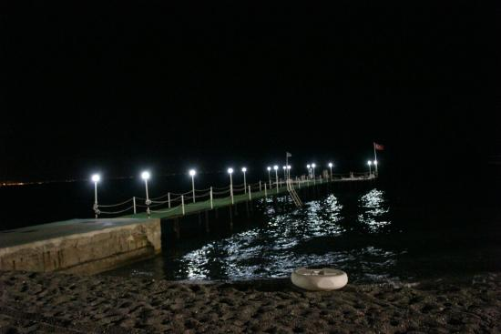 Carelta Beach Resort and Spa: пляж и пирс