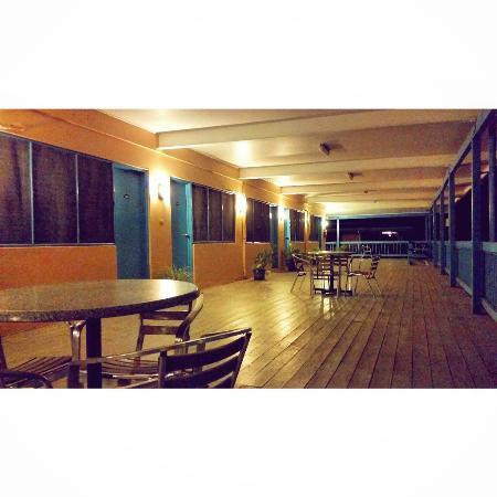 First Light Inn : View from the verandah.