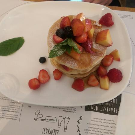 The Circle Eatery : Pancacke at Circle.