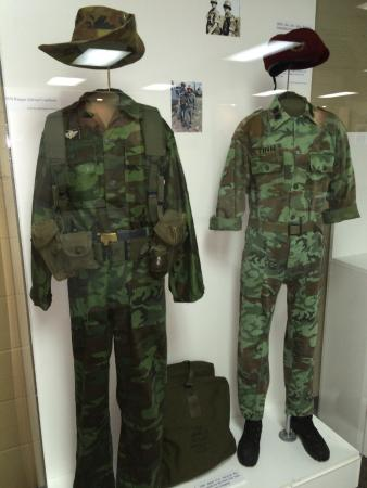 ARVN Uniforms, Vietnam - Picture of Branson Military Museum, Branson