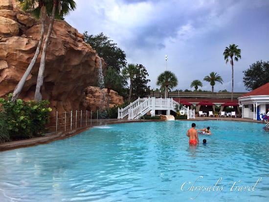 Disney S Grand Floridian Resort Spa Rock Slide Pool Near The Villas