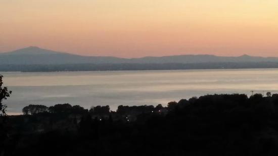 La Volpaia: vista sul lago
