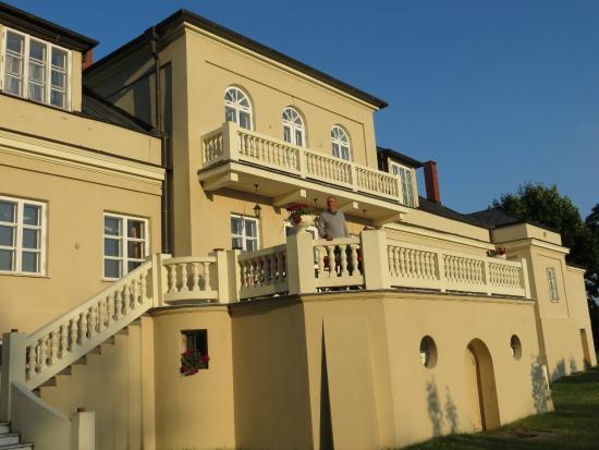 Opole Lubelskie, Poland: retro del palazzo