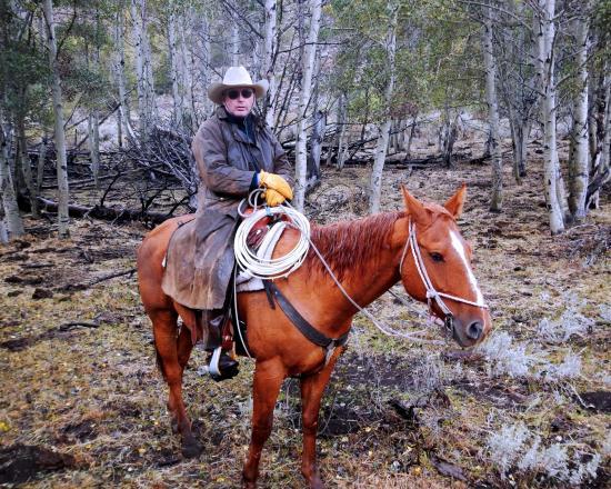 Diamond, Oregón: After a fun day in the saddle